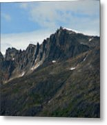 Jagged Mountain Metal Print