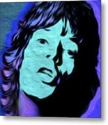 Jagger Blue,nixo Metal Print