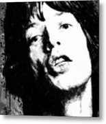Jagger Metal Print
