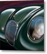 Jaguar C Type Metal Print by David Kyte