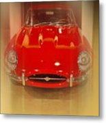 Jaguar E-type 1960s Metal Print