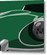 Jaguar E-type Metal Print by Michael Tompsett