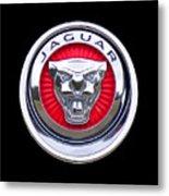 Jaguar Emblem Metal Print