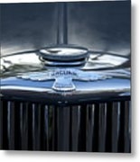 Jaguar Hood Ornament Metal Print