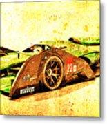 Jaguar Le Mans 2015, Race Car, Fast Car, Gift For Men Metal Print