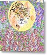 Jaguar Night Metal Print