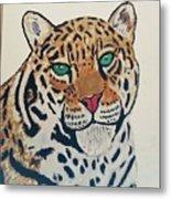 Jaguar Painting Metal Print