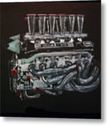 Jaguar V12 Twr Engine Metal Print