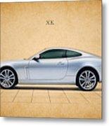 Jaguar Xk Metal Print by Mark Rogan