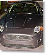 Jaguar Xk No 1 Metal Print