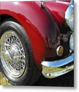 Jaguar Xk Series Metal Print