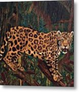 Jaguar's Domain Metal Print