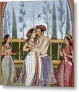 Jahangir (1569-1627) Metal Print