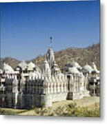 Jain Temple Of Ranakpur Metal Print