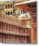Jaipur City Palace Metal Print
