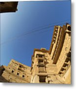 Jaisalmer Fort Metal Print