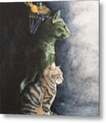 Jake And The Ancestors-pet Portrait Metal Print