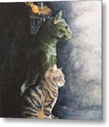 Jake And The Ancestors-pet Portrait Metal Print