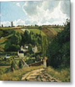 Jalais Hill At Pontoise Metal Print