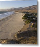 Jalama Campground And Beach. Pacific Metal Print by Rich Reid