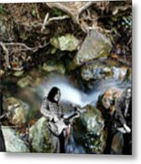 Jam At The Creek 2018 #1 With Critters Metal Print