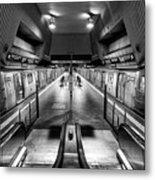 Jamaica Center Subway Station, Queens New York Metal Print