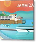 Jamaica Horizontal Scene Metal Print