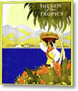 Jamaica, The Gem Of Tropics Metal Print