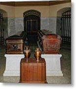 James A. Garfield Coffin Metal Print
