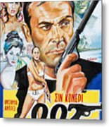 James Bond Dr.no 1962 Metal Print