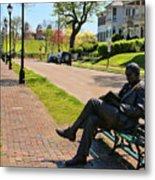 James Bradley Statue 4211 Metal Print