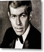 James Coburn, Vintage Actor Metal Print