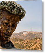 James Dean - Griffith Observatory Metal Print