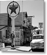 James Dean On Route 66 Metal Print