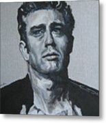 James Dean One Metal Print