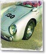 James Dean Porsche Spyder 550 Metal Print