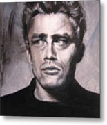 James Dean Two Metal Print