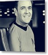 James Doohan, Scotty Metal Print
