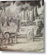 James Farm Metal Print