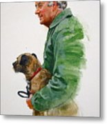 James Herriot And Bodie Metal Print