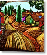 James Lesesne Wells' Farmlands Metal Print