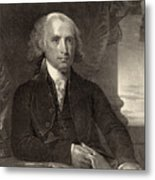 James Madison - Fourth President Of The United States Of America Metal Print