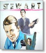 James Stewart Metal Print