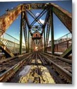 James Street Swing Bridge Metal Print