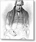 James Watt, Scottish Inventor Metal Print