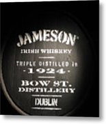 Jameson Metal Print by Kelly Mezzapelle