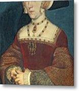 Jane Seymour Metal Print by Holbein