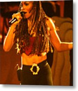 Janet Jackson 94-2994 Metal Print
