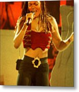 Janet Jackson 94-3000 Metal Print