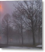 January Fog 3 Metal Print